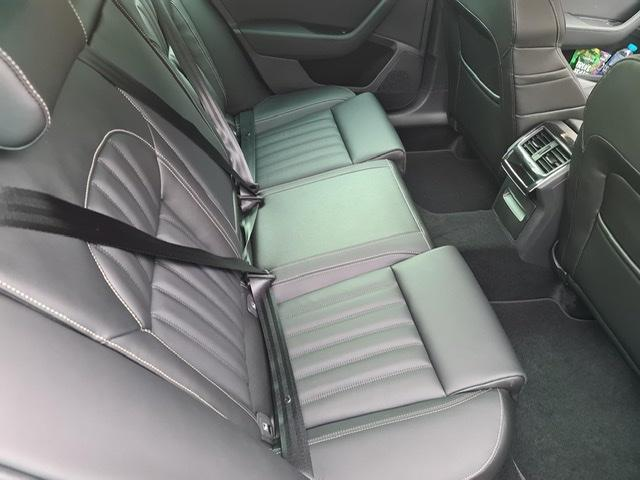 Rear seat supern