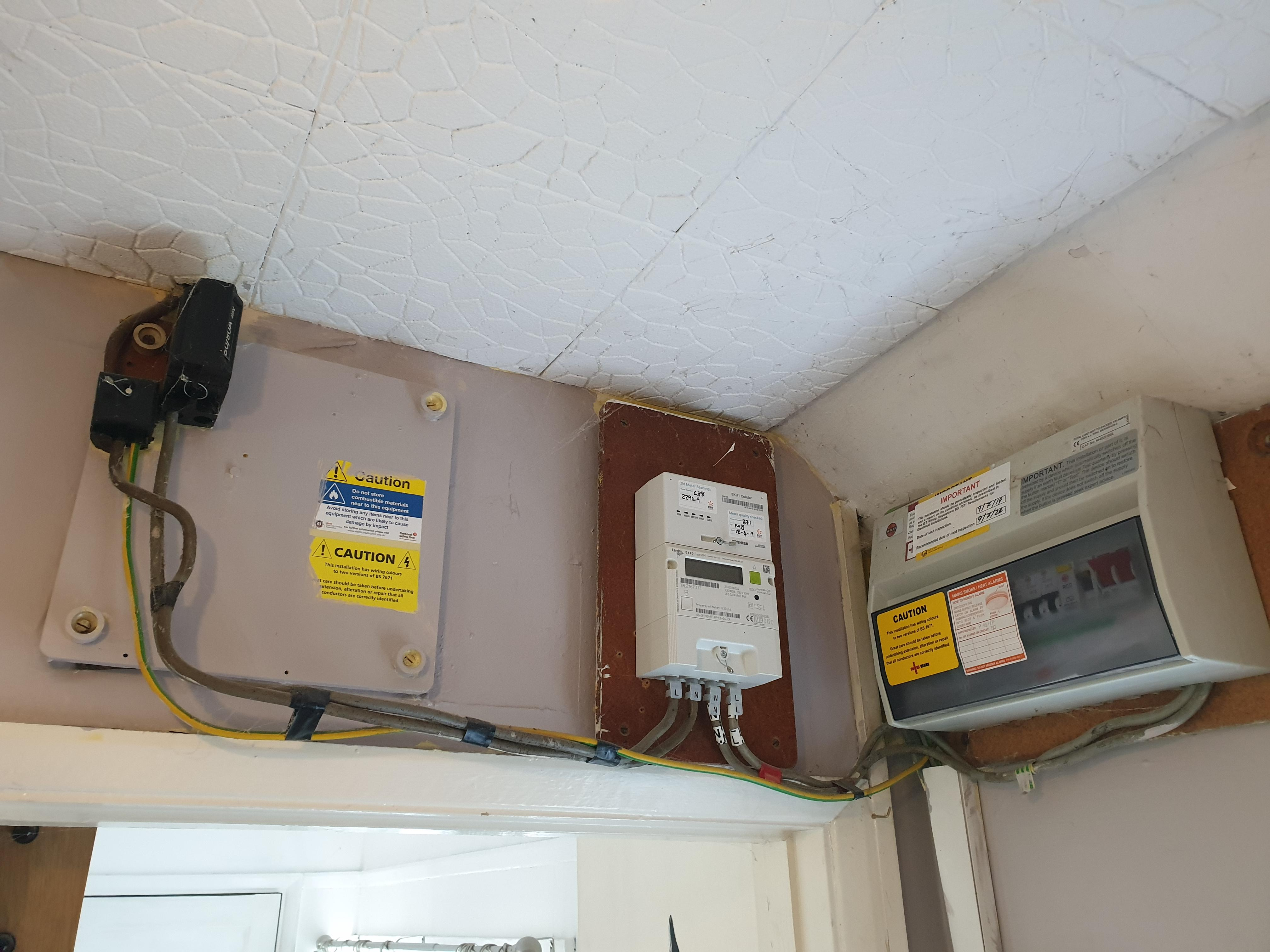 Smart meter install by edf