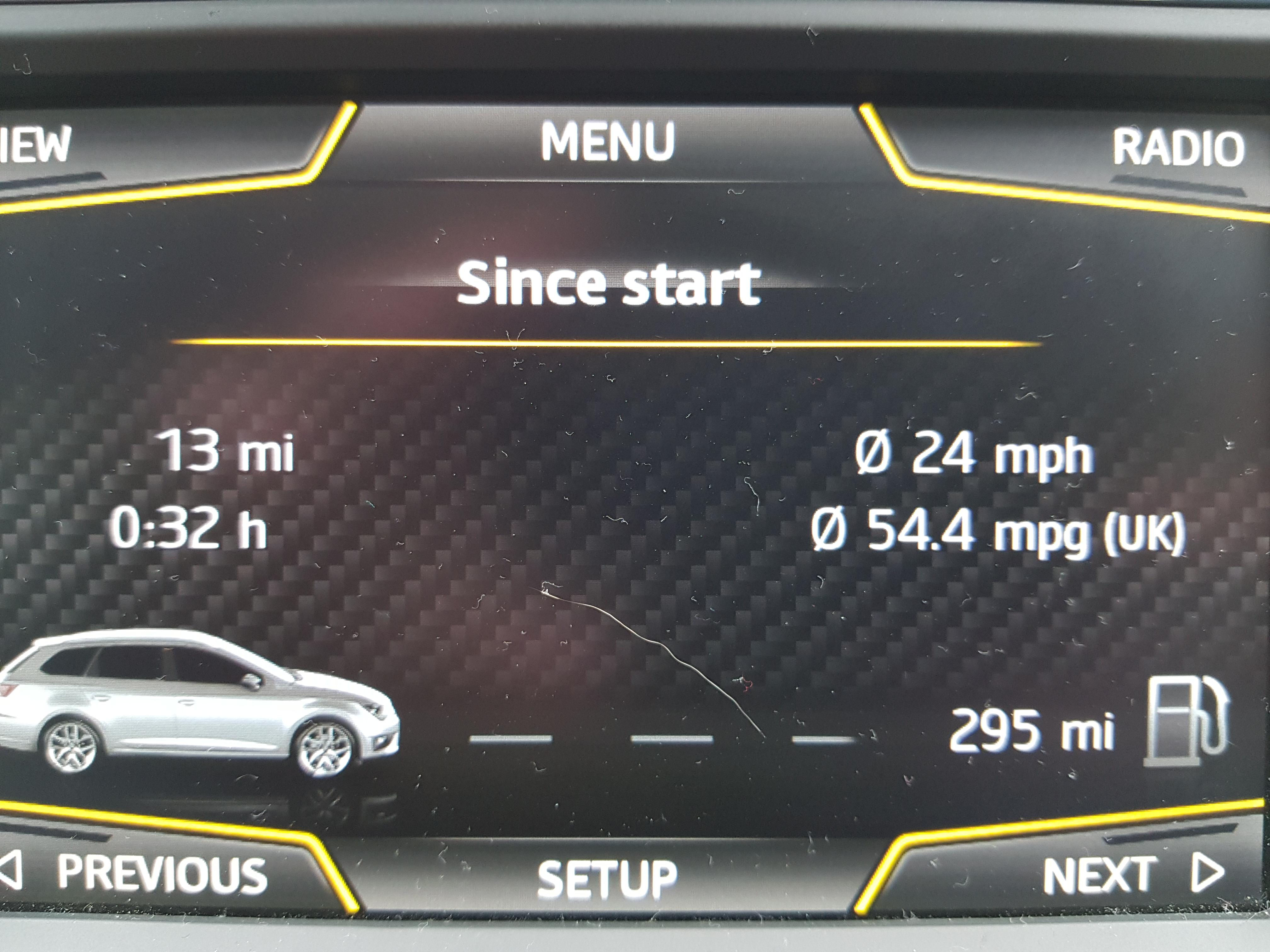 MPG for my Seat Leon St Fr 1.4 EcoTsi Petrol Manual - Which Mobility ...