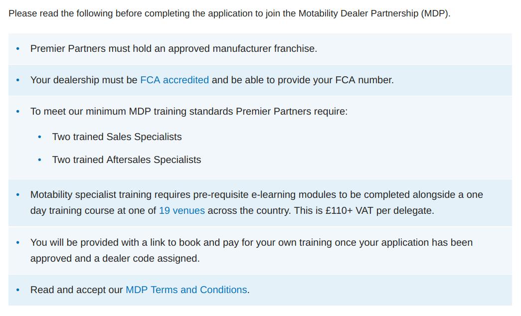 motability dealer order - Which Mobility Car Forum