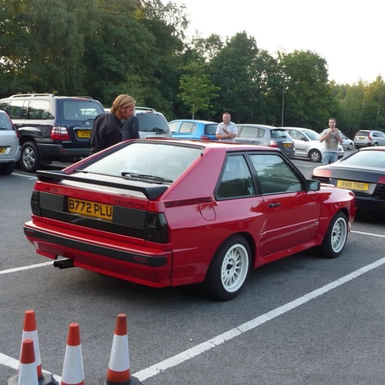 My Quattro sport 80s classic still got it in dry store.
